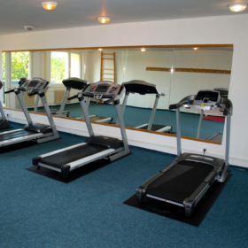 Gyms and study rooms  at Thaler Dormitory